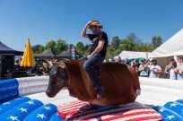 Bull Riding am Festival